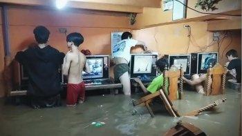 Hochwasser Gamer Zocken Trotzdem Header