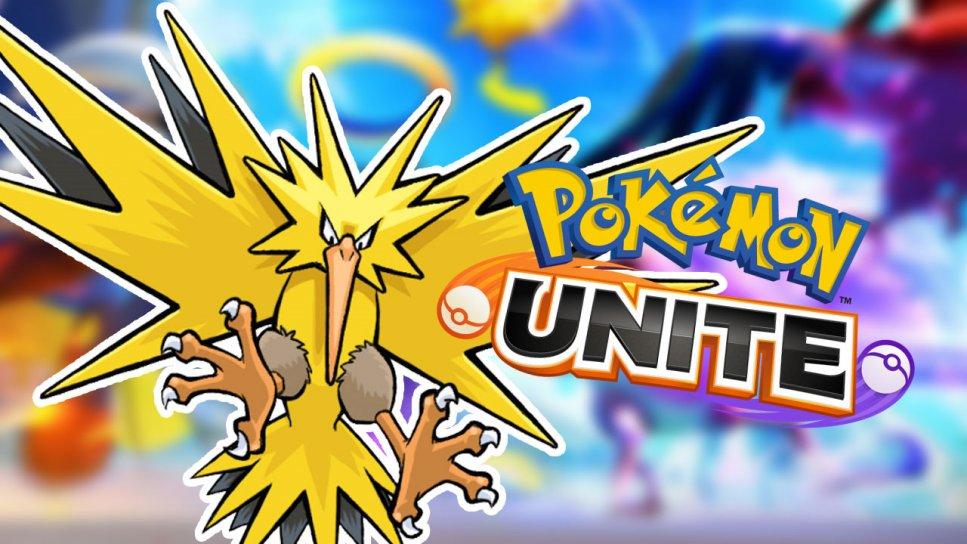 Pokemon Unite Taking Down Zapdos