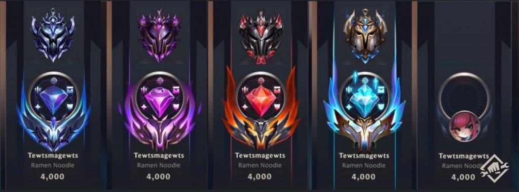 Die neuen Ranked-Embleme sind Kristalle