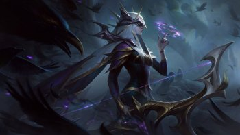 Coven Ashe League Of Legends Skin