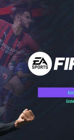 Fifa 22 Web App Header