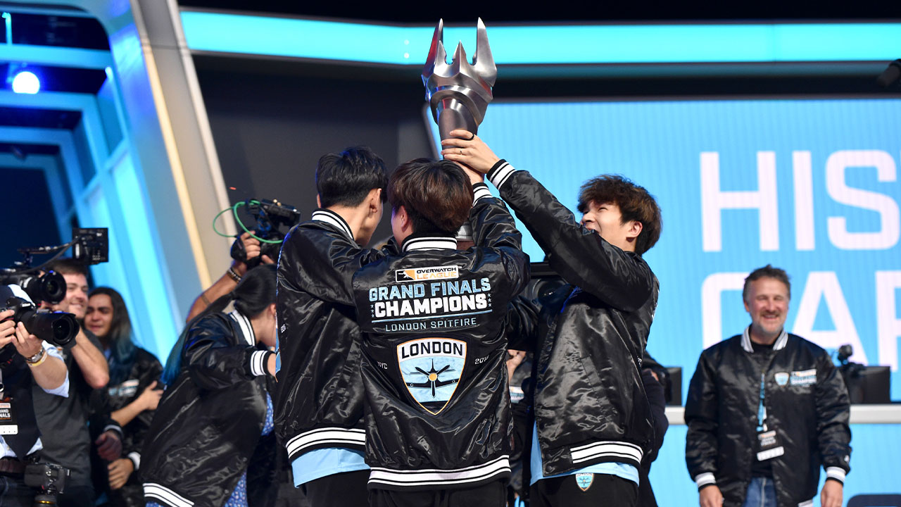 London Spitfire were the inaugural Overwatch League Champions in 2018