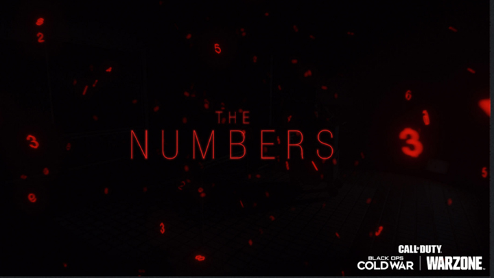 CoD Numbers Event