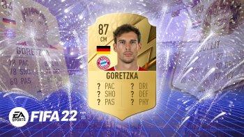 FIFA 22 Bayern Star Einzigartiges Rating Header