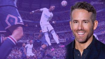 FIFA 22 Ryan Reynolds Header