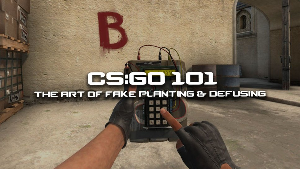 The Art Of Fake Planting And Defusing