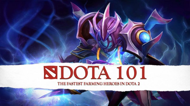 The Fastest Farming Heroes In Dota