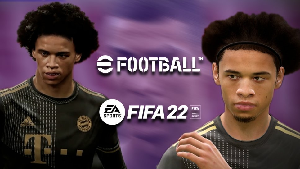 EFootball FIFA 22 Vergleich Header