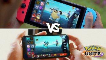 Pokemon Unite Mobile Versus Switch