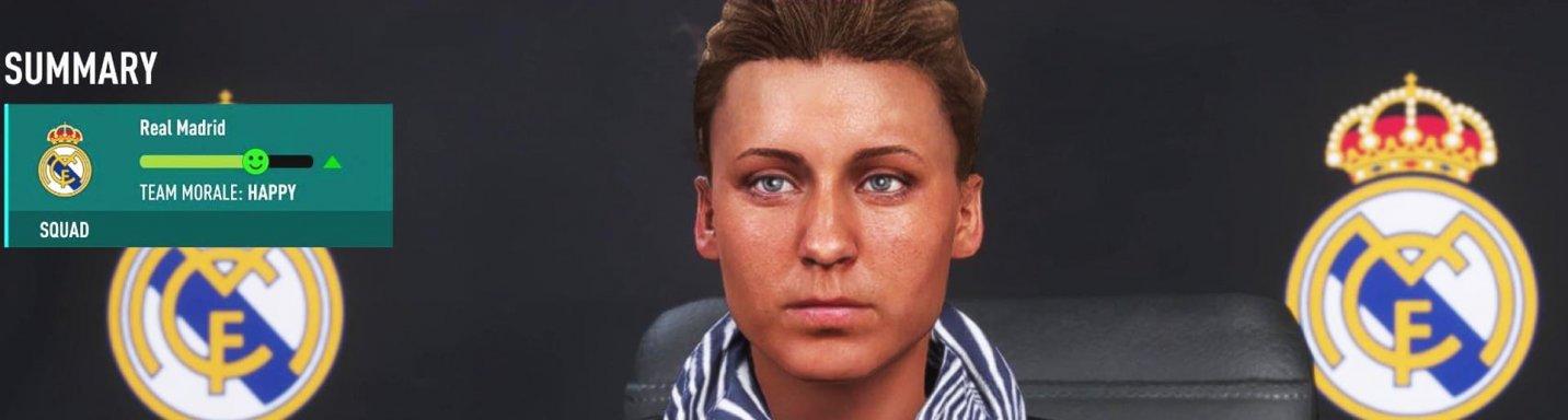 FIFA 20 Karriere Modus Konferenz Real Madrid Trainerfrau