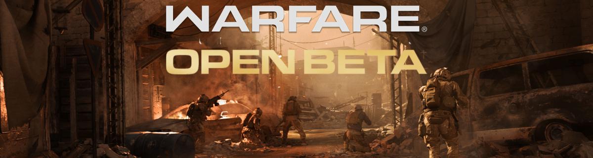 Call of Duty Open Beta