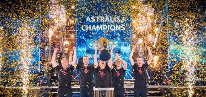 Astralis feiert 2019 den Major-Sieg in Katowice.