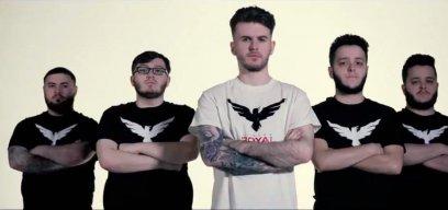 Das Team der London Royal Ravens