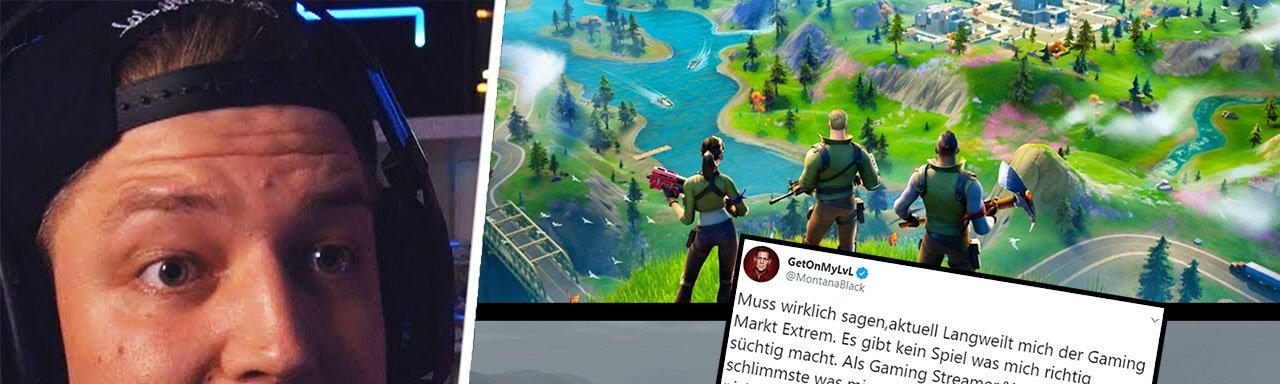 MontanaBlack zeigt sich auf Twitter enttäuscht vom Gamingmarkt