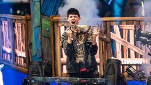 "Kyle ""Bugha"" Giersdorf Fortnite World Champion 2019"