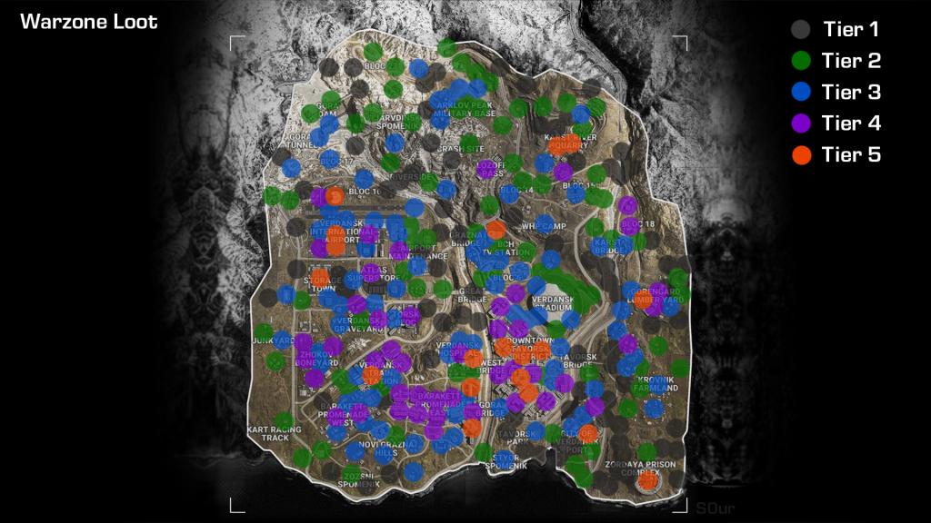 Die besten Lootspots in Warzone