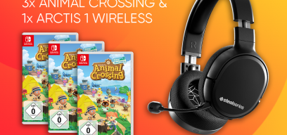 Steelseries Animal Crossing