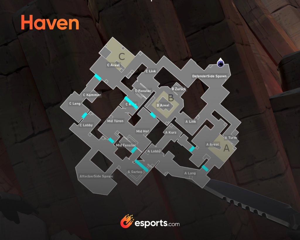 Haven Karte VALORANT