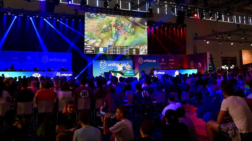 Uniliga Finale auf der Gamescom