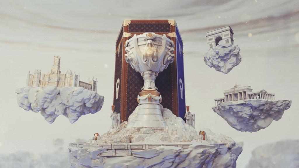 So soll der Behälter für den WM-Pokal einmal aussehen.