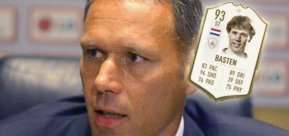 Marco van Basten hat eine eigene Icon-Karte
