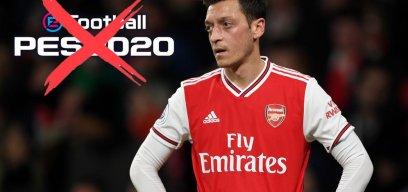 PES 2020 China verbannt Özil