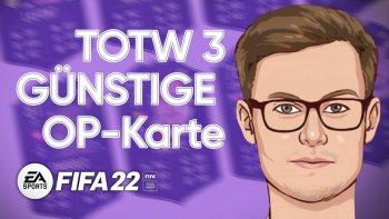 FIFA 22 TOTW 3 Analyse Header