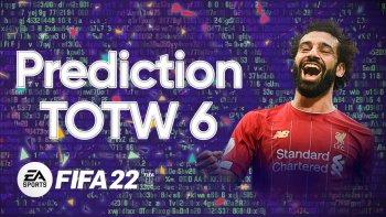 FIFA 22 TOTW 6 Prediction Min