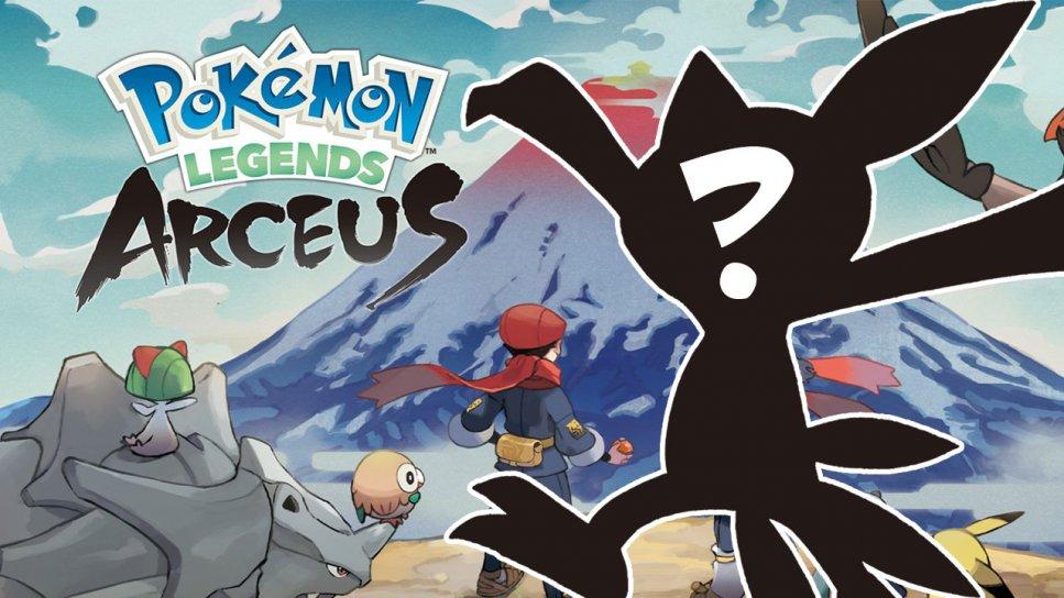 Pokemon Legends Arceus New Pokemon