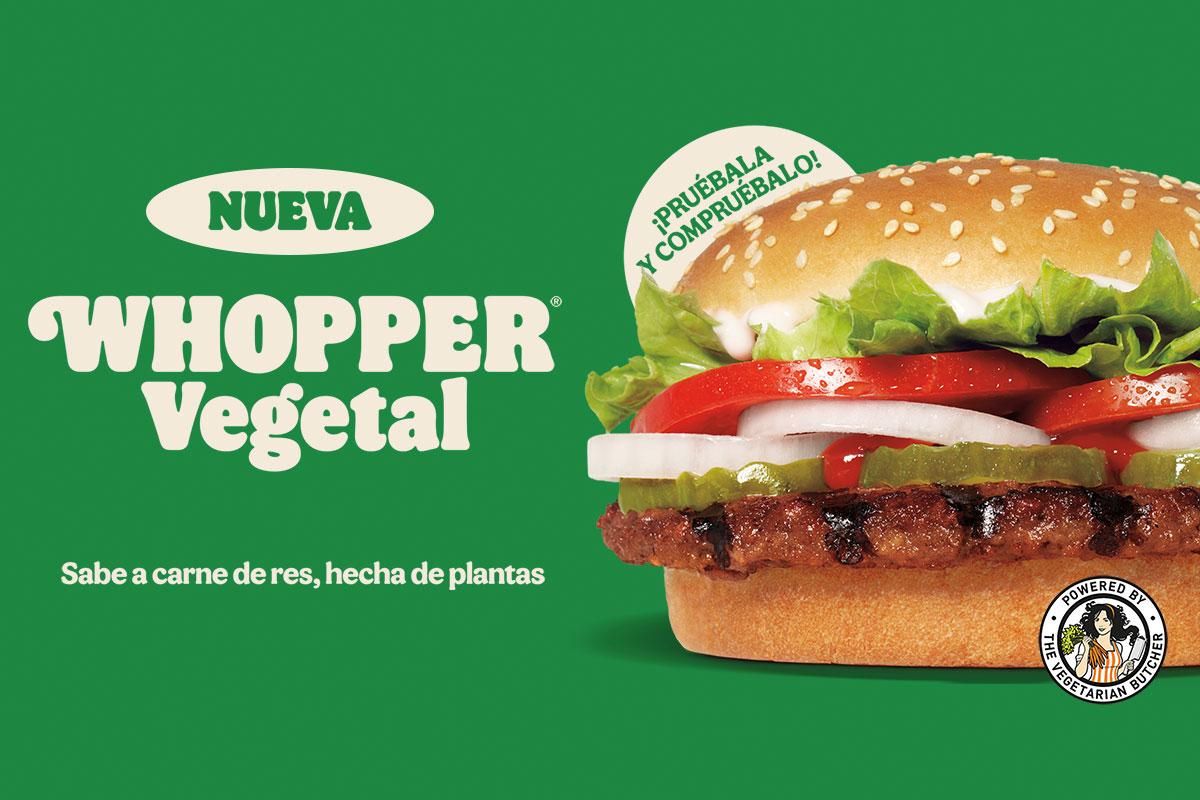 Nueva Whopper Vegetal image