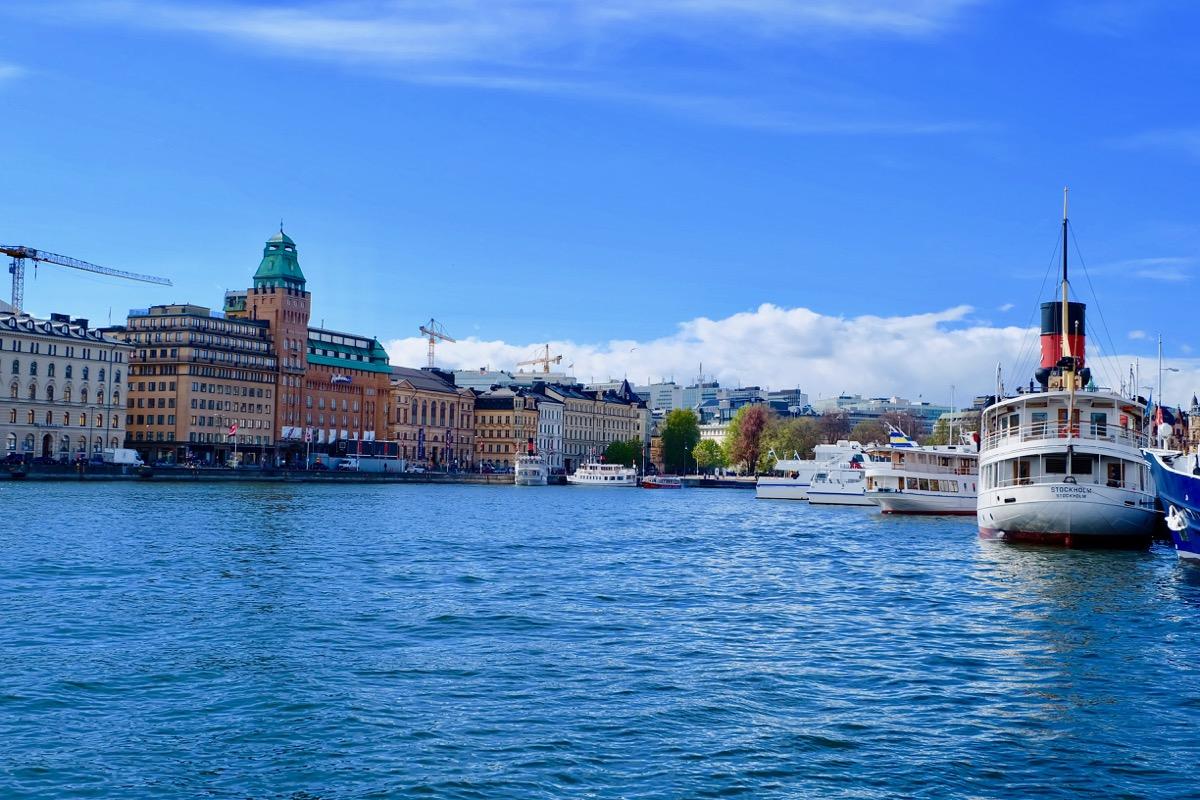 Стокгольм. Вид с набережной
