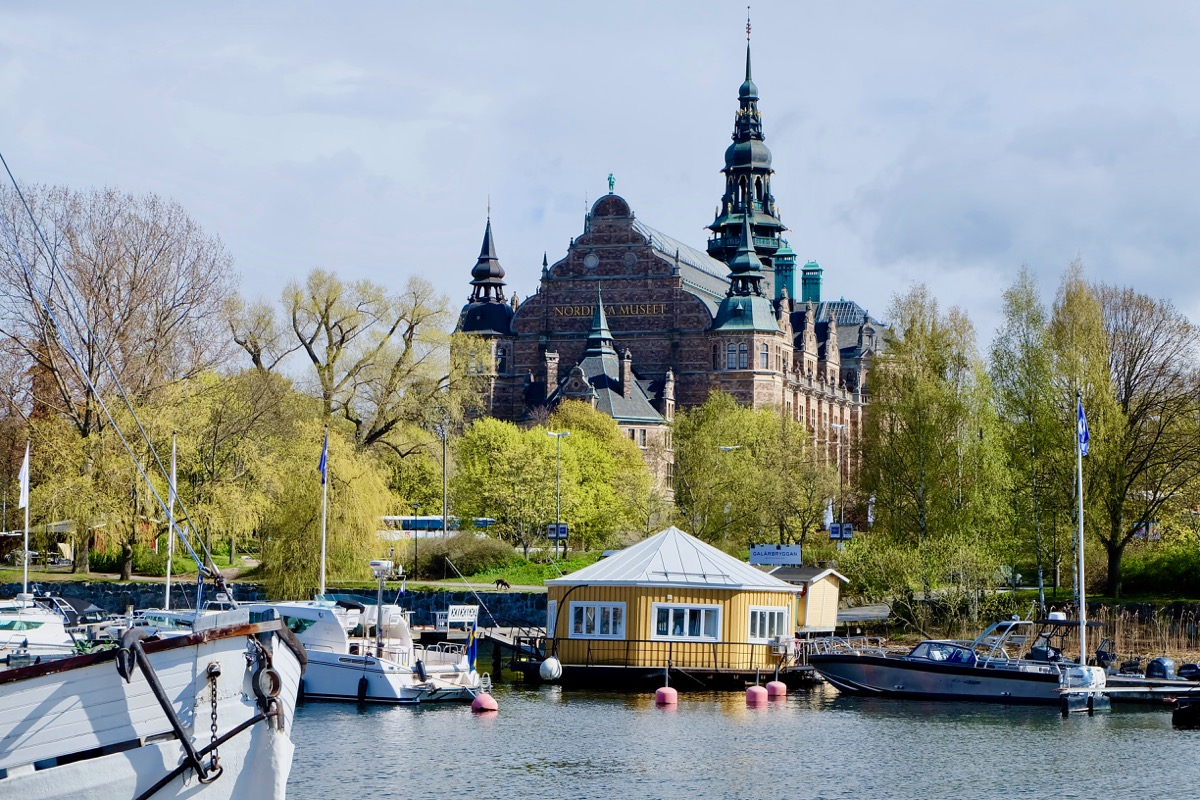 Стокгольм. Nordic meseum