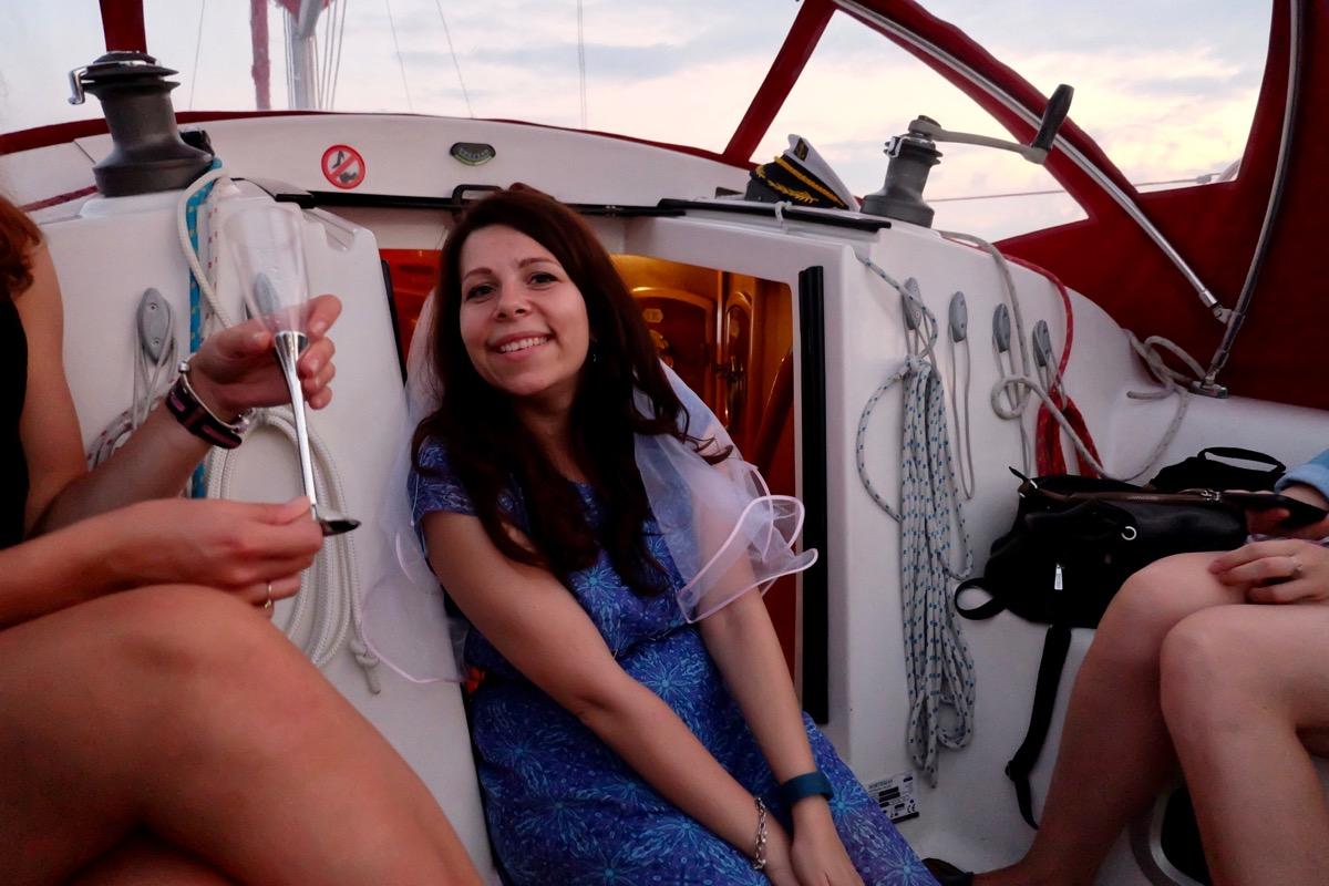 девичник на яхте