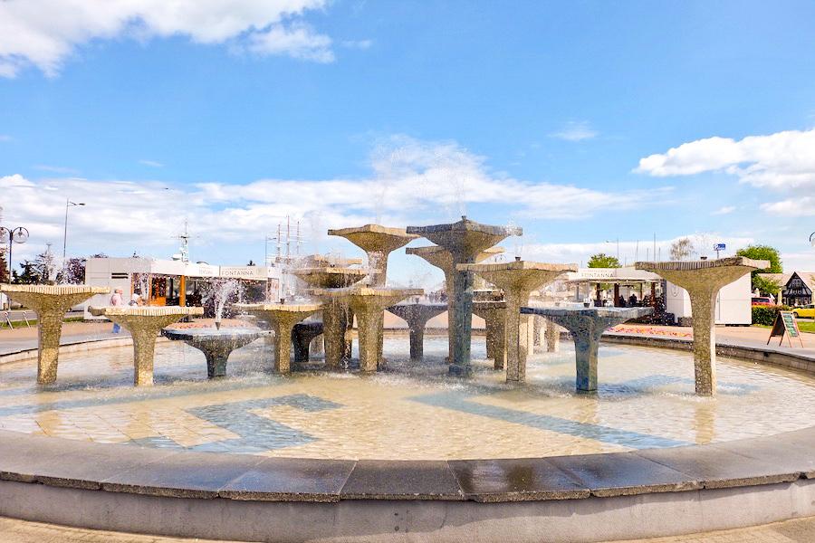 фонтан Гдыня