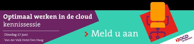 Kennissessie: optimaal werken in de cloud