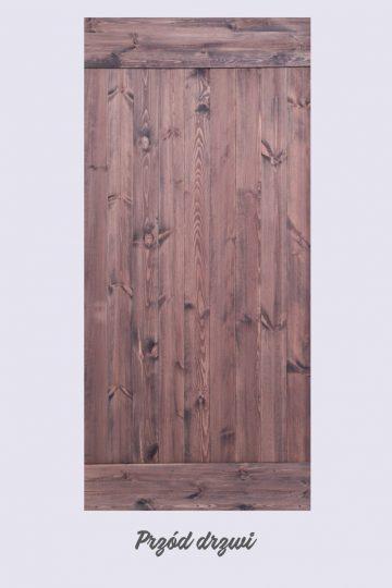 drzwi przesuwne drewniane, drzwi rustykalne, drzwi 90 x 210