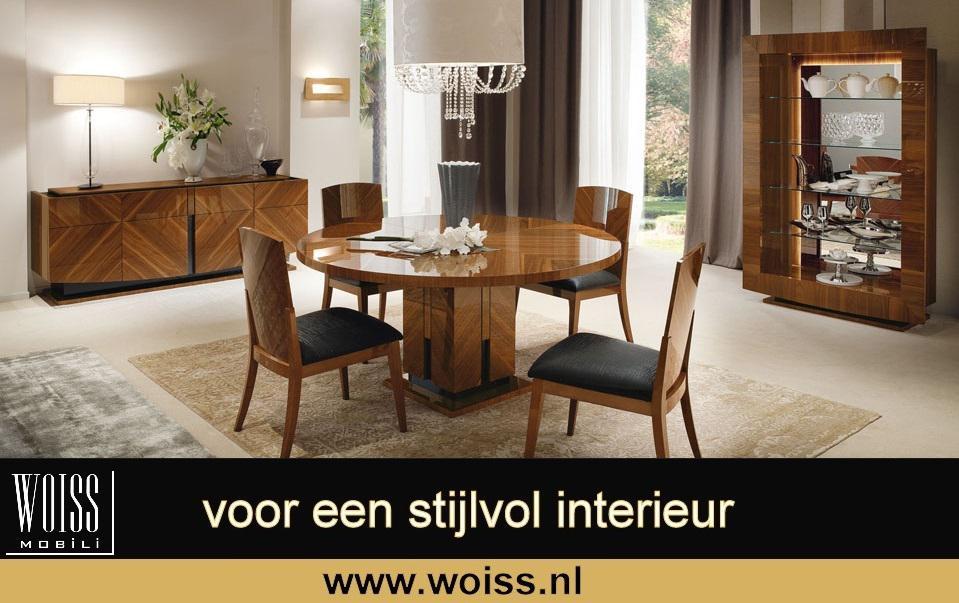 Te Koop Woiss Meubelen Modern Hoogglans Italiaans Noten Woonkamer Mercado Nl