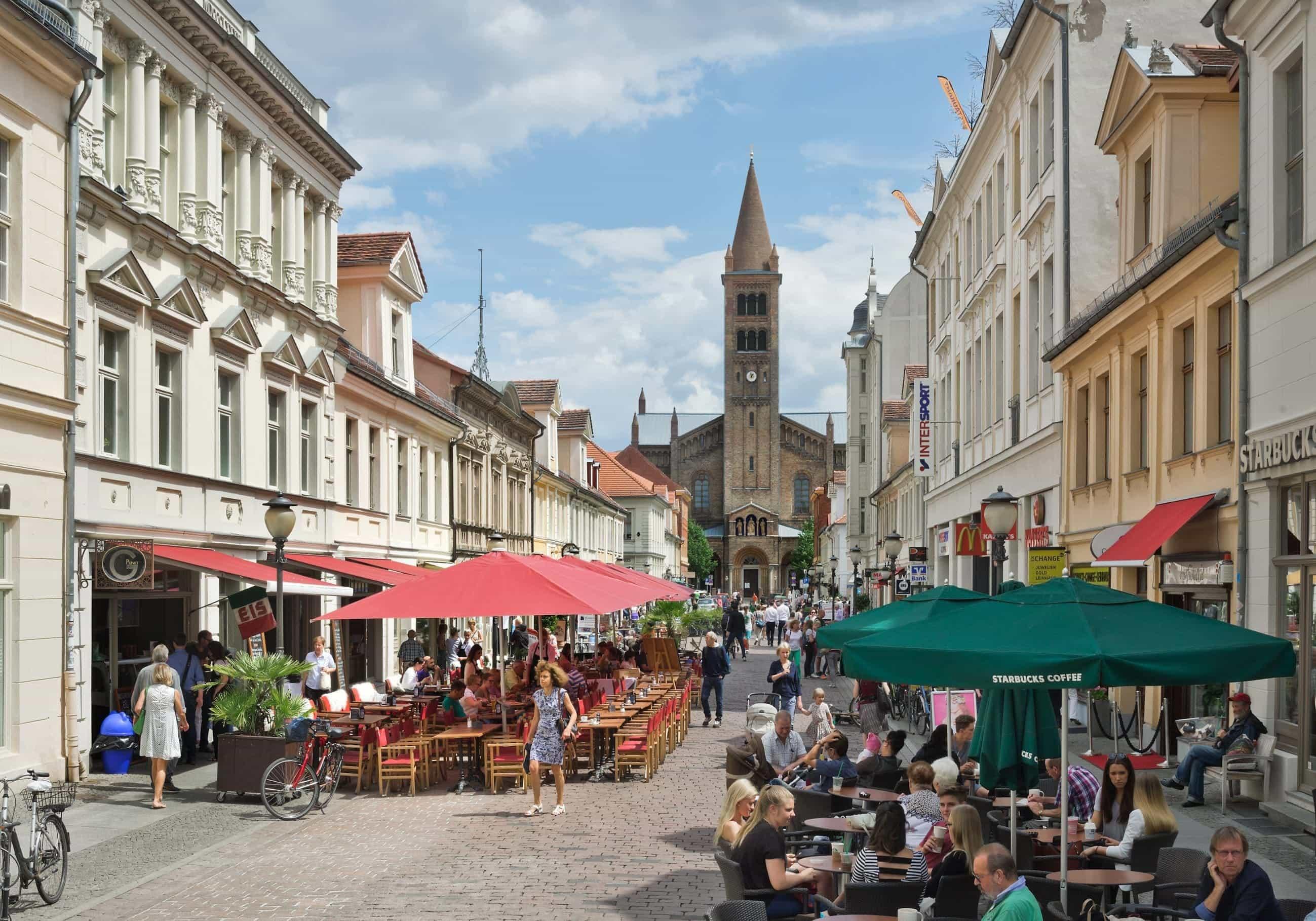 Brandenburger-Strasse in Potsdam