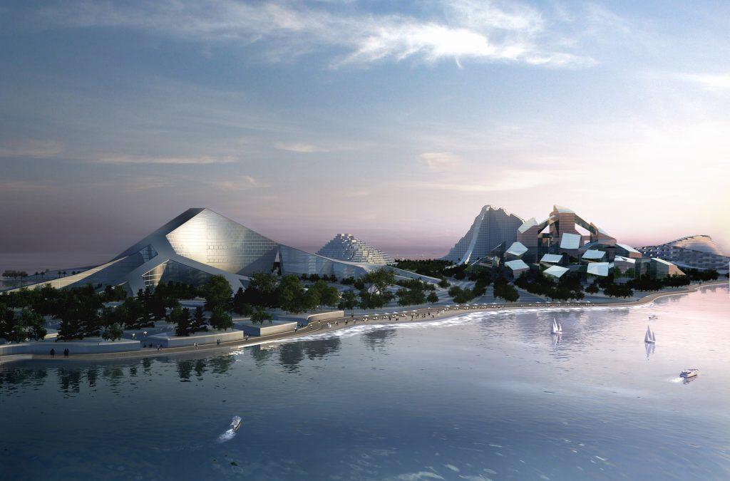 «Эко-остров» Зира в Баку