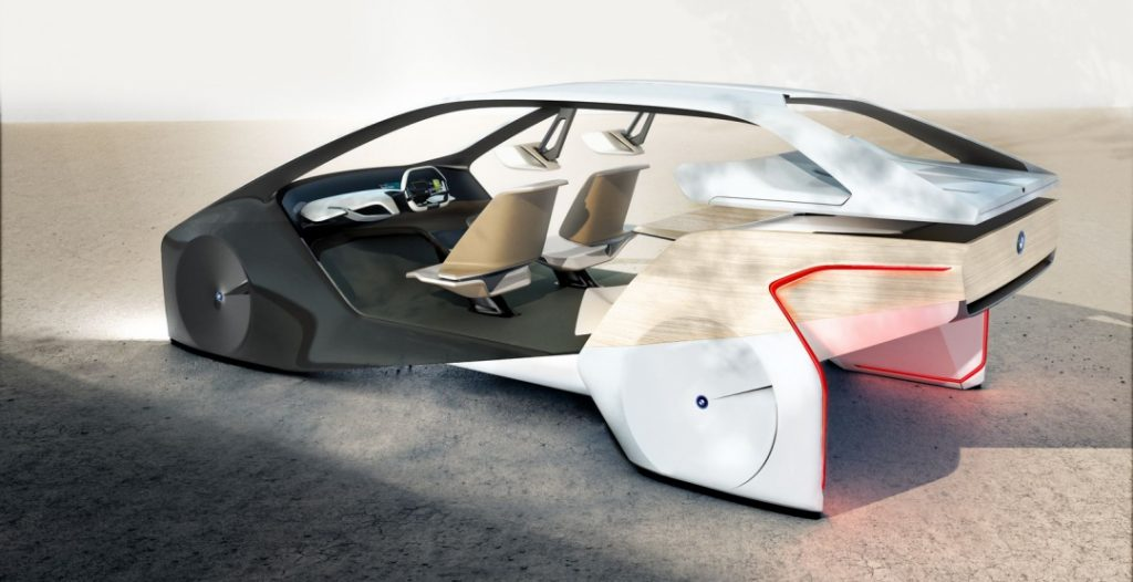 Автомобиль будущего: BMW i Inside