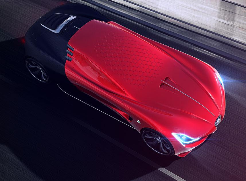 Контраст элементов Alfa Romeo С18