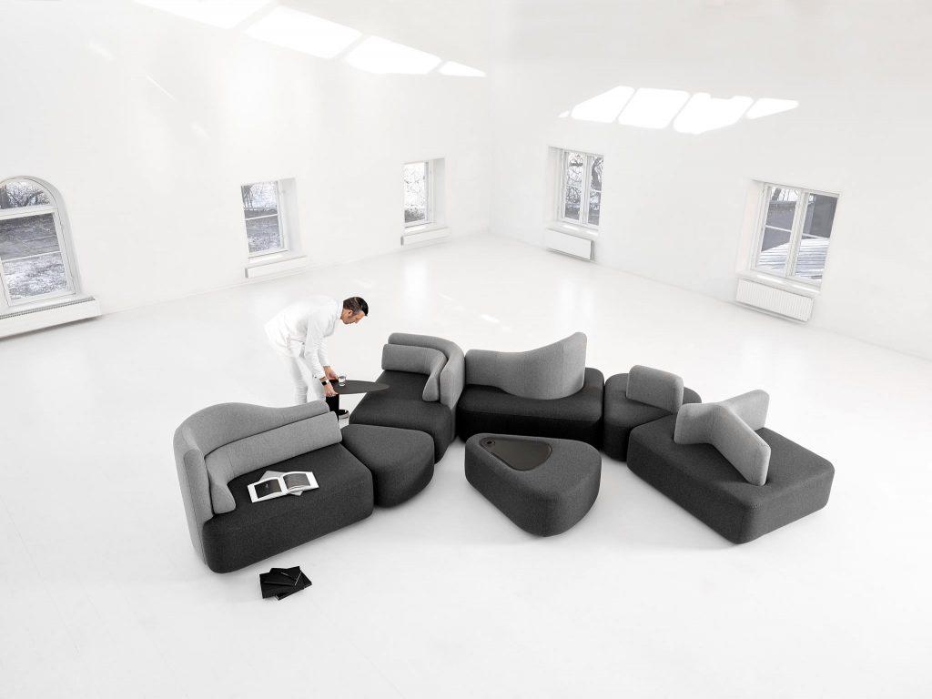 Новая модульная диванная система Ottawa от Karim Rashid для BoConcept