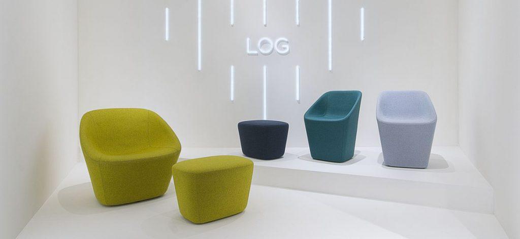 Новая стильная коллекция мягкой мебели LOG