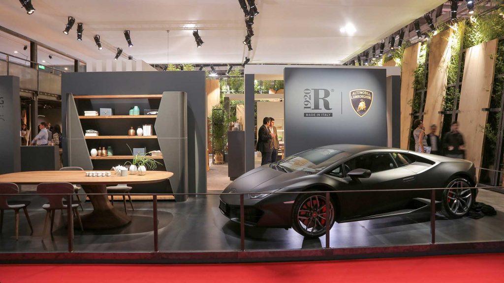 Подлинная мебель для подлинной жизни от Lamborghini в союзе с Карим Рашид и Riva1920