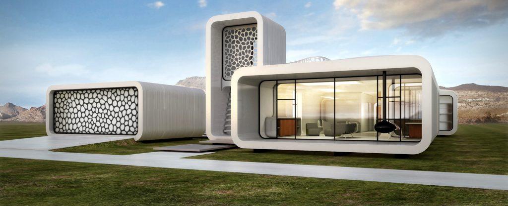 «Офис будущего» напечатали на 3D-принтере в Дубае