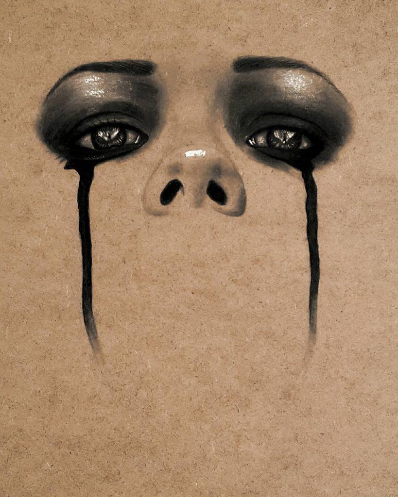Женские лица в картинах Хусама Влида