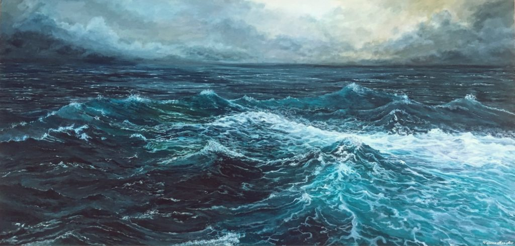 Завораживающее море в картинах Ванессы Мэй