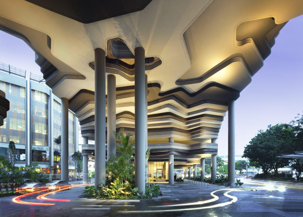 Отель-сад в Сингапуре от WOHA