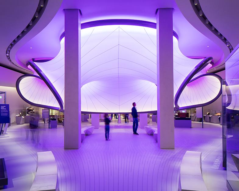 Математическая галерея для Музея науки Лондона от бюро Захи Хадид