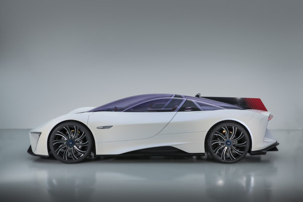 Techrules Ren: презентация роскошного электродизельного суперкара